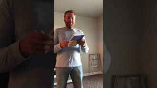 Evan unboxes our first books!