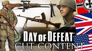 Cut Content of Day of Defeat | the DoD we didn