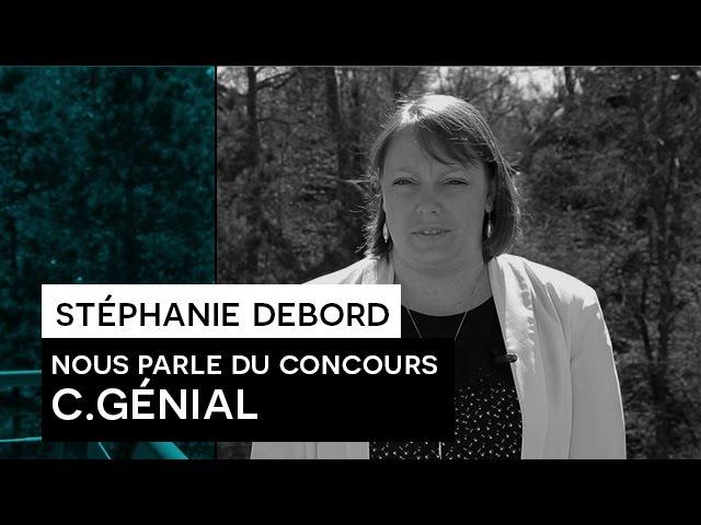 People Say : Stéphanie Debord et le concours C.Génial