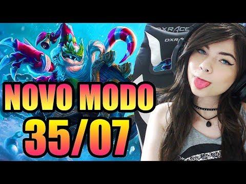 NOVO MODO - ARURF GUERRA NA NEVE - League of Legends