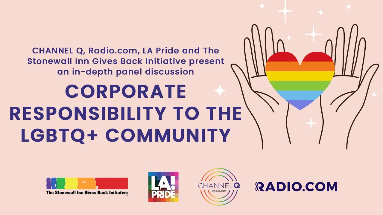 LGBTQ+ CORPORATE RESPONSIBILITY PANEL DISCUSSION