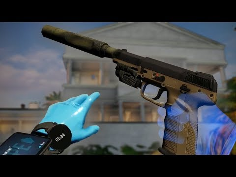 Stealing $12,340,647 from a Drug Kingpin's Mansion in VIRTUAL REALITY (Payday VR)