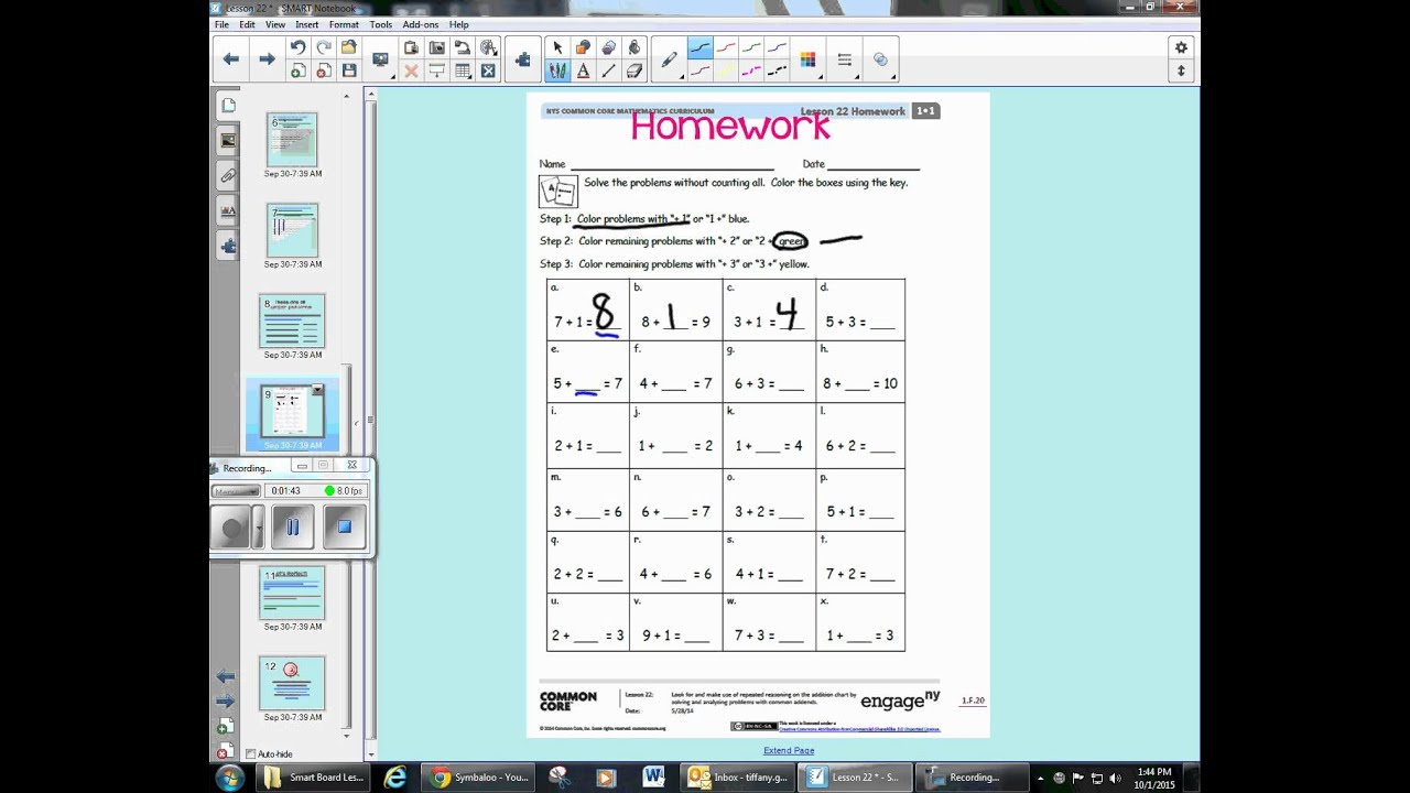eureka math lesson 22 homework 4.3