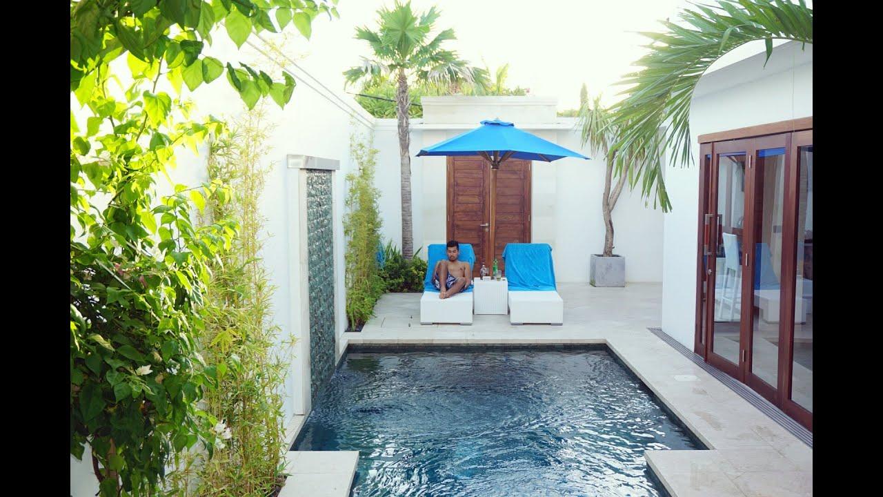 Kamil Villas Private Villa With Pool Tour Seminyak Bali Youtube