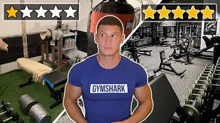 Reviewing my subscribers' home gyms...