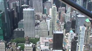 Tour of the Empire State Building, New York City, New York, USA