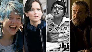 Guardian Film Show: Blue is the Warmest Colour, The Hunger Games: Catching Fire & more