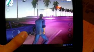 Обзор GTA Vice City и Max Payne на планшете DNS AirTab M83w с Android 4.0.4