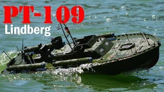 PT 109 1/32 scale model RC Boat Lindberg PT 109 1/32 Scale Model Ki...