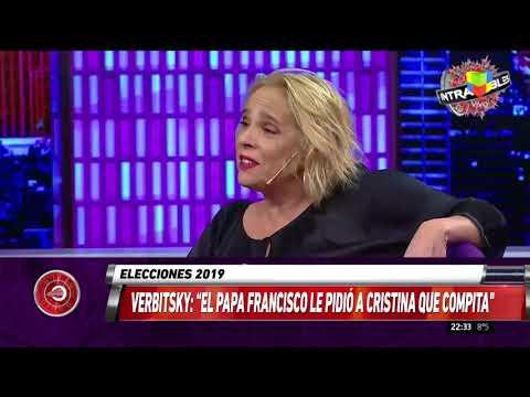 Verbitsky: El Papa Francisco le pidió a Cristina que compita