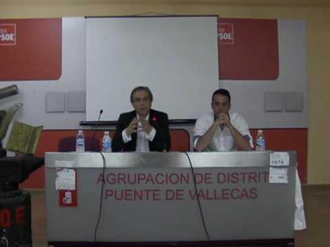 A.M.CARMONA CHARLA EN VALLECAS REFUGIADOS LESBOS 27-5-2016