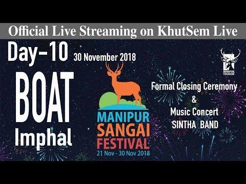 Manipur Sangai Festival - Closing Ceremony