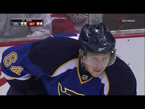NHL 30.03.2011  St. Louis Blues - Detroit Red Wings