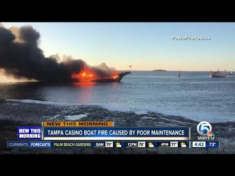 Poor maintenance blamed for Florida casino shuttle boat fire