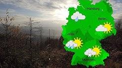 Wettervorhersage: Anfangs Regen, dann Schnee (26.12.2017)