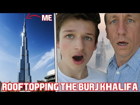 Save ROOFTOPPING THE TALLEST BUILDING IN THE WORLD *BURJ KHALIFA, 125TH FLOOR* 😱 Screenshots