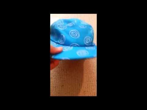 8aad03b6bed8 ODD FUTURE Single Donut all over Camp Hat Review  unboxing - YouTube