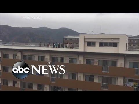Tsunami Hits Eastern Japan After Earthquake Strikes