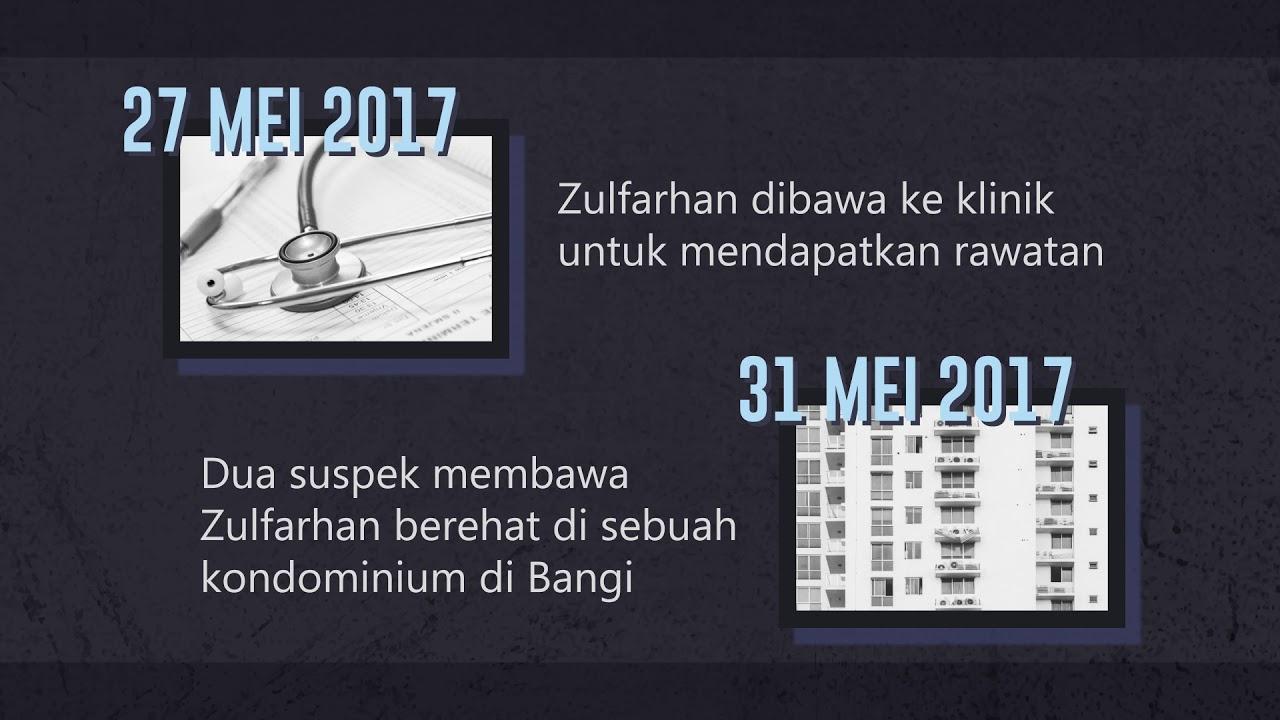 Kronologi Kes Pembunuhan Allahyarham Zulfarhan Osman Youtube