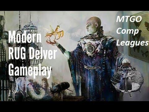 Chart and Shoal RUG (Temur) Delver L1 M5 vs Vizier Company