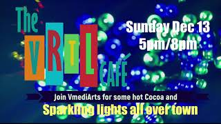 Sparkling Lights All Over Town - VRTL Cafe II