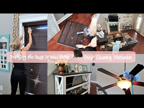 Dusting Hacks- Deep Cleaning Motivation- Cleaning Routine for Tackling Dust in Your Home-WMCW