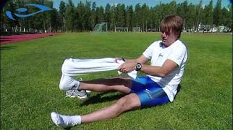 Elixir - Juoksu - Juoksijan lihashuolto - Pyyhepumppaus