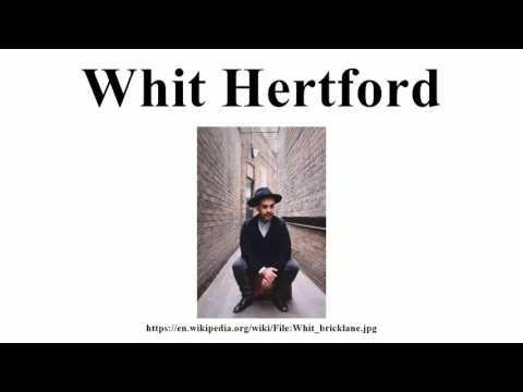 Whit Hertford