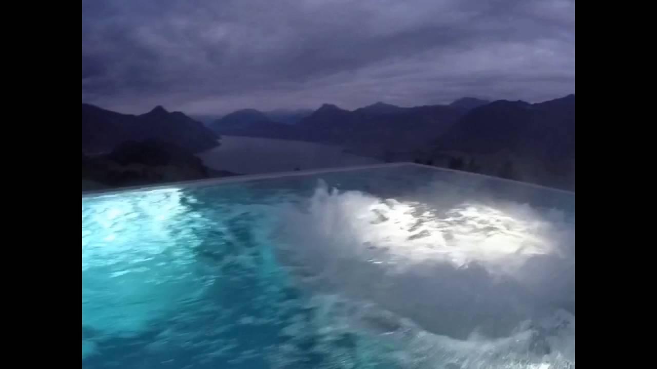 Hotel Villa Honegg dedans villa honegg pool - viral video - youtube