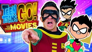 Teen Titans GO! To The Movies! The NEW Robin! - Teaser Trailer Spoof