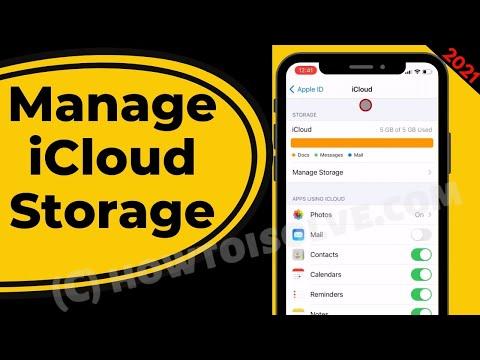 IOS 15 ICloud Storage Full - How To Delete ICloud Storage 2021
