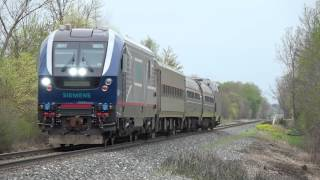 TRRS 500: Siemens SC-44 Charger - Michigan Debut Test Train!