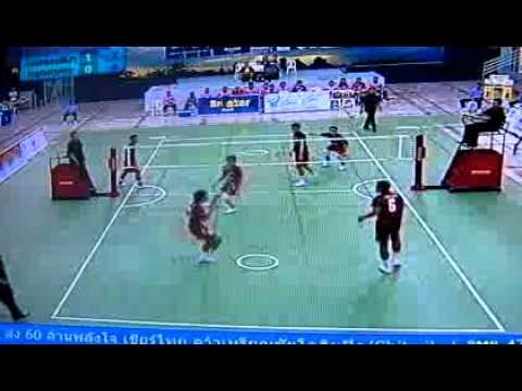ตะกร้อไทยแลนด์ลีก2012 กรุงเทพVSโคราช