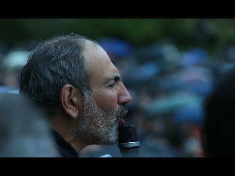 Live. Նիկոլ Փաշինյանի և աջակիցների պայքարը շարունակվում է – Ապրիլի 25, 2018. 12:30-16:30