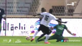 هدف هجر الأول ضد الأهلي (نابى سوماه) في ربع نهائي كأس ولي العهد
