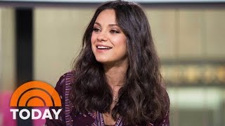 Mila Kunis On Naby No. 2 With Ashton Kutcher, 'Bad Moms' Role | TODAY