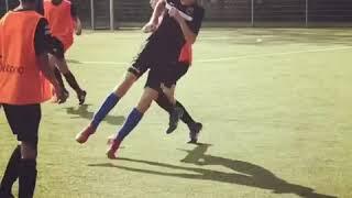"""Dimiani Vianello"" makes a beautiful move at his football training @VVWilhelmus JO12-2"
