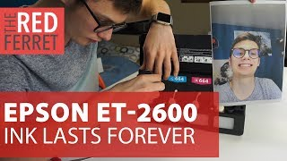 Epson Printer - Ink Forever? [REVIEW]