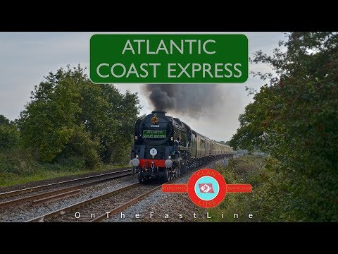 Southern Spectacular! 35028 roars on the Atlantic Coast Express 23-09-17