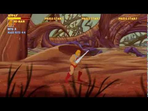 He-Man and the Masters of the Universe OPENBOR DEMO 720P HD Playthrough