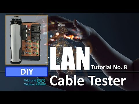 DIY - LAN CABLE TESTER