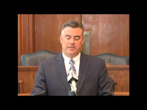 Senate President Pro Tem Tom Dempsey (R-St. Charles) l Recap of 2014 Legislative Session