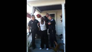 RPD BEATS MAN ON HIS OWN PORCH PT.3