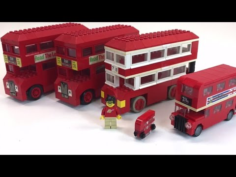 LEGO LONDON BUS set 313 from 1966!