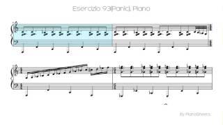 Esercizio 93(Panic) [Piano Solo]