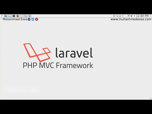 دورة Laravel PHP MVC frameworkبالعربي
