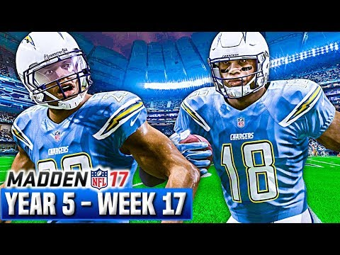 Madden 17 Chargers Franchise Year 5 - Week 17 vs Raiders | Ep.113