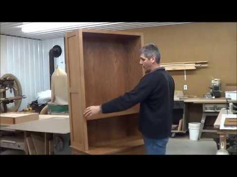 Wall Open Book Shelf (WOBS) Cabinet