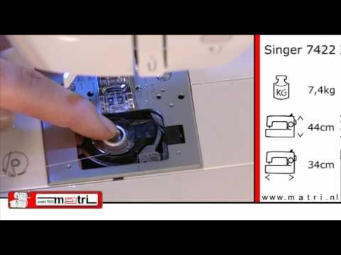 singer 7422 instruction naaimachine sewingmachine machine a coudre n hmaschinen youtube. Black Bedroom Furniture Sets. Home Design Ideas