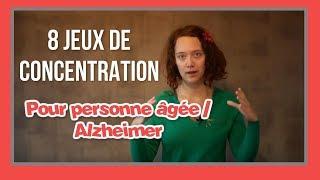 8 Jeux A Decouvrir Pour Stimuler La Concentration D Une Personne Agee Alzheimer Youtube